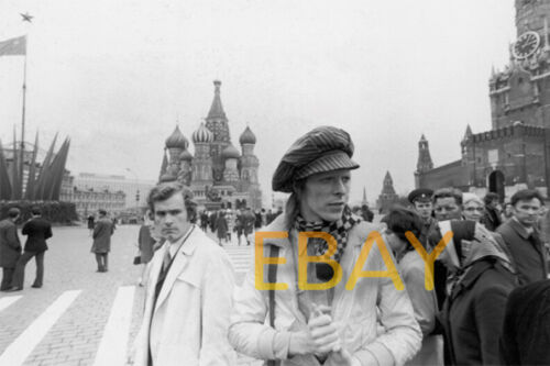 David Bowie Red Square Russia April