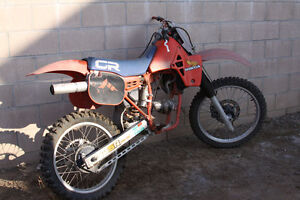 LOOKING FOR HONDA CR 125 AND 250 FROM 1983 AND UP