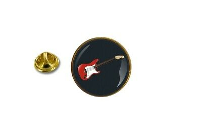 Pins Pin Insignia Pin ´S Metal Con Pinza Mariposa Guitarra Eléctrica Música