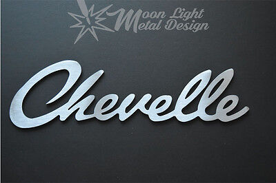Chevy Chevelle Logo Metal Sign Metal Garage sign Chevrolet  Metal Art