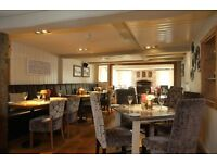 Kitchen Porter, Commis Chef, Chef de Partie & Sous Chef needed