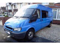Camper Van – Ford Transit - 2002 (52 Plate) Long Wheel Base