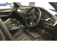 Black BMW X5 3.0TD Auto 2015 M50d FROM £180 PER WEEK!