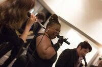 LIVE MUSIC WEDDING PACKAGE: Singer + Jazz Band + Funk Band + DJ
