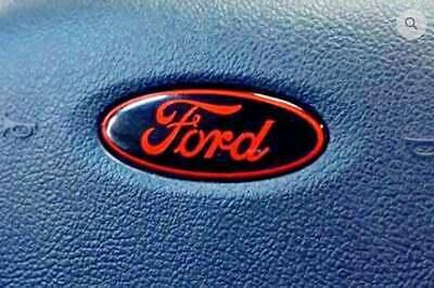 Ford Steering Wheel Air Bag Horn Emblem Oval OVERLAY Vinyl Decal Sticker Custom Ford Oval Decal