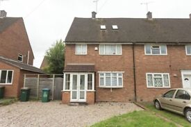 FULLY FURNISHED 4 BEDROOM SEMI DETACHED HOME AVAILABLE, FLETCHAMSTEAD HIGHWAY, COVENTRY