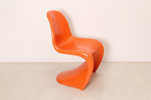 Chaise(s) ''Panton'' à vendre, couleur orange vintage