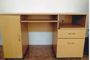 Computer desk and book shelf Cabramatta Fairfield Area Preview