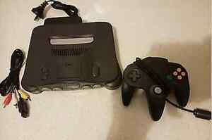 Dark Grey Nintendo 64 Console + Controller Neutral Bay North Sydney Area Preview