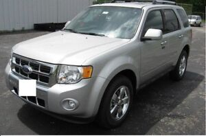 2010 Ford Escape Limited - AWD, Navigation, Rear Cam, Low KM