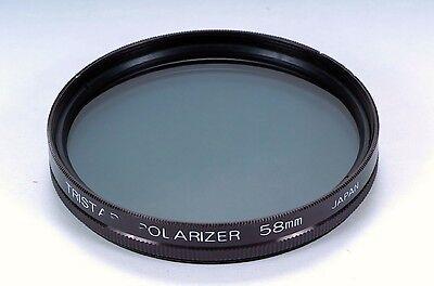 Tristar 58mm Polarizer Glass Filter Japan 18696