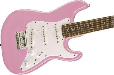 NEW - Fender Squier Mini Strat V2 Electric Guitar - PINK, 0370121570