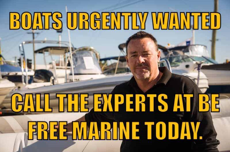 Boats Urgently Wanted.