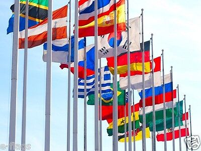 FLAGS OF THE WORLD PICK FROM 50 NATIONAL INTERNATIONAL FLAGS