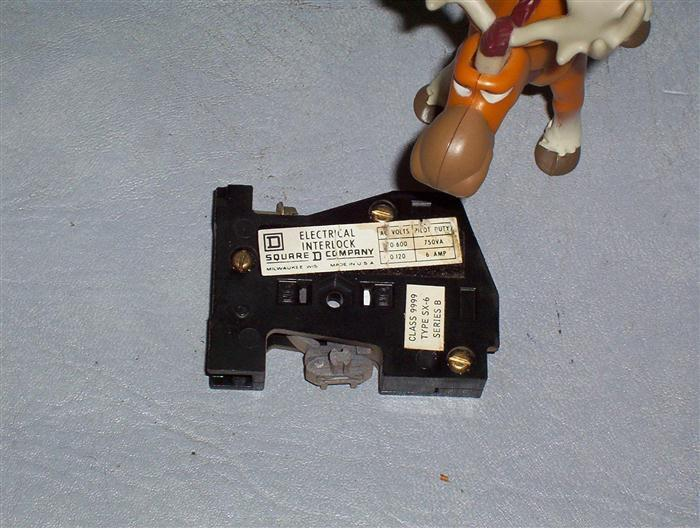 Square D Contactor & Starter Auxiliary Contact SX6 SX-6