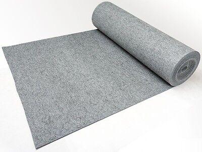 Grau Filz 8-9mm 1200 g/qm 100x160cm Meterware Schön, Top Qualität