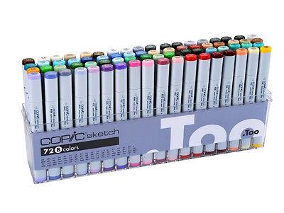 Copic Sketch Marker 72 Color Set B Artist Markers