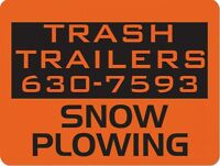 Snowplow Services - Trash Trailers