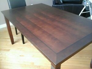 Dining room table with 2 chairs, $100