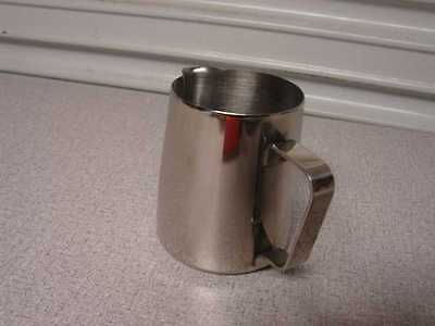 Stainless Steel Milk Steaming Pitcher 12 Oz Frothing