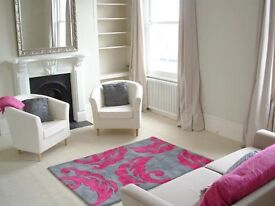 3 bed split-level flat in period property with huge living area and sunny balcony, newly decorated