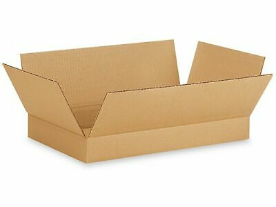 25 12x9x2 Cardboard Shipping Boxes Cartons Packing Moving Mailing Box Storage