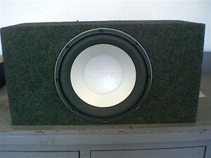 "Infinity Kappa Perfect 12"" Sub with Pioneer GM-X962 760W amp"