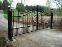 Driveway Gates Prince George - Entrance Security & Country Gates
