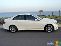 MERCEDES C SERIES AMG WHEELS AND CONTI TIRES