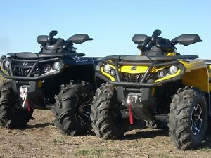 SNORKEL YOUR ATV snorkel kit for CanAm Outlander @ ATV TIRE RACK