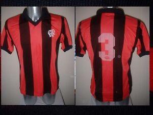 Clube-Atletico-Paranaense-Saller-Shirt-Jersey-Football-Soccer-Vintage-L-Brazil-3