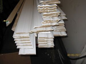Moldings for baseboards & ceiling