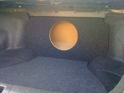 - For 08-12 Honda Accord - Custom Sub Enclosure Subwoofer Speaker Box - Single Sub