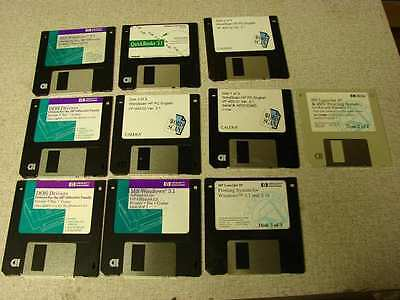 "3-1/2"" 1.44m floppy disks 10 pcs used once."