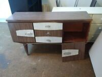 classic vintage mid-century sideboard for a small project can deliver