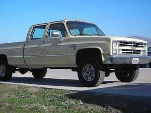 looking for a 4x4 crewcab