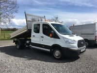 2016 Ford Transit Crew Cab Tipper 125ps