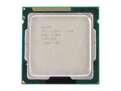 Genuine Intel Core I3-2100 3.1GHz Sandy Bridge CPU Processor SR05C