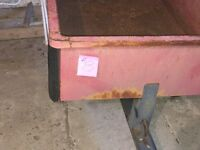 Red utility trailer for ATV/Lawnmower