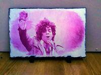 Prince Singer Purple Rain Sketch Art Portrait on Slate Rare Collectable 30x20cm Choice of 2