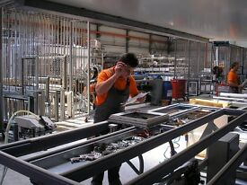 Aluminium Window Fabricator, Factory Worker