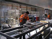 Aluminium Window Fabricator, Factory Worker