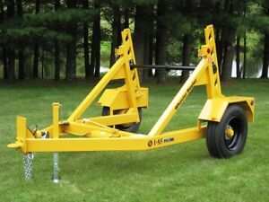 Wide Range of Reel Trailers and Cable Pulling Machinery