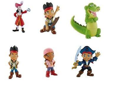 Bullyland Jake und die Nimmerland Piraten Neverland  Hook, Izzy, Tick Tack, Jake