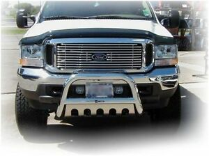"Bull Bar 3"" pour camions Ford F150 04-17  Inox. Poli"