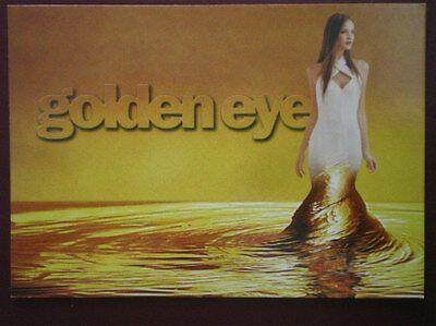 POSTCARD  BRUCE OLDFIELDS 'GOLDEN EYE'