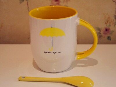 TV Serious How I Met Your Mother Umbrella Mug Coffee Cup with Spoon Handel