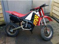 Malaguti 50cc kids motorbike grizzly 10 rcx 50
