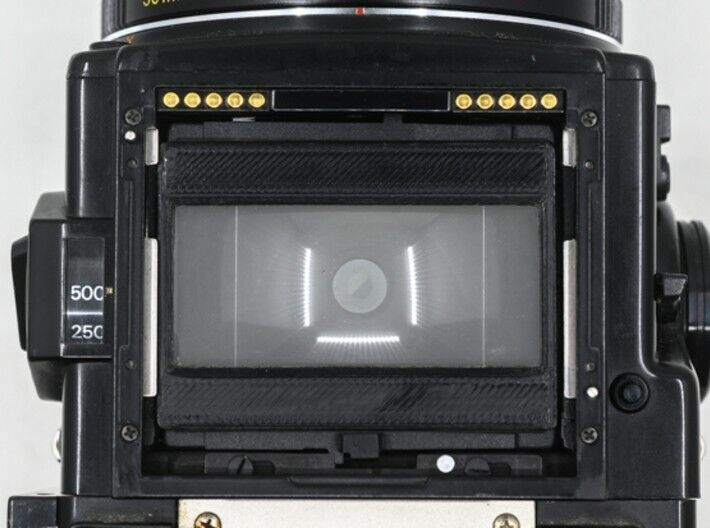 Bronica 135W or 135N Focusing Screen Mask Custom 3D Printed ETR ETRS ETRSi