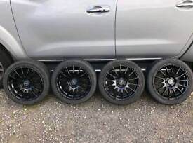 "15"" Alloys with tyres Fox Racing FX004"